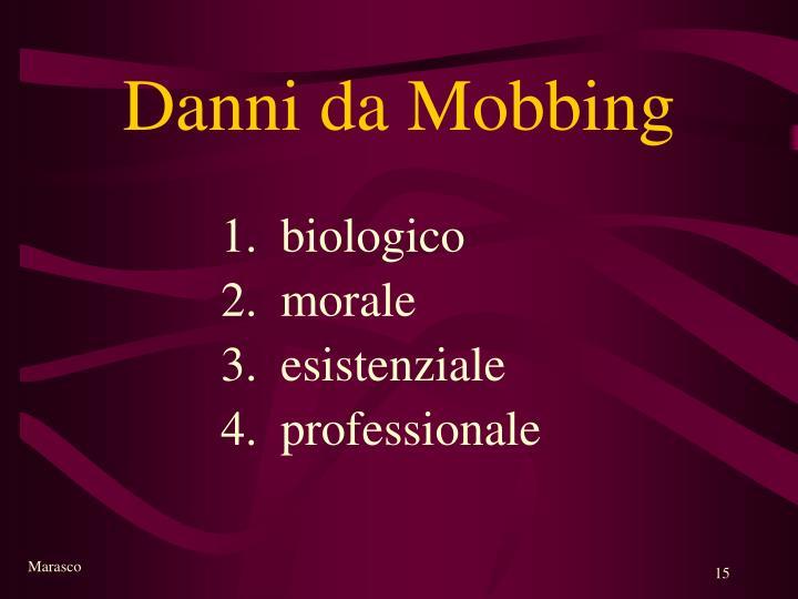 Danni da Mobbing