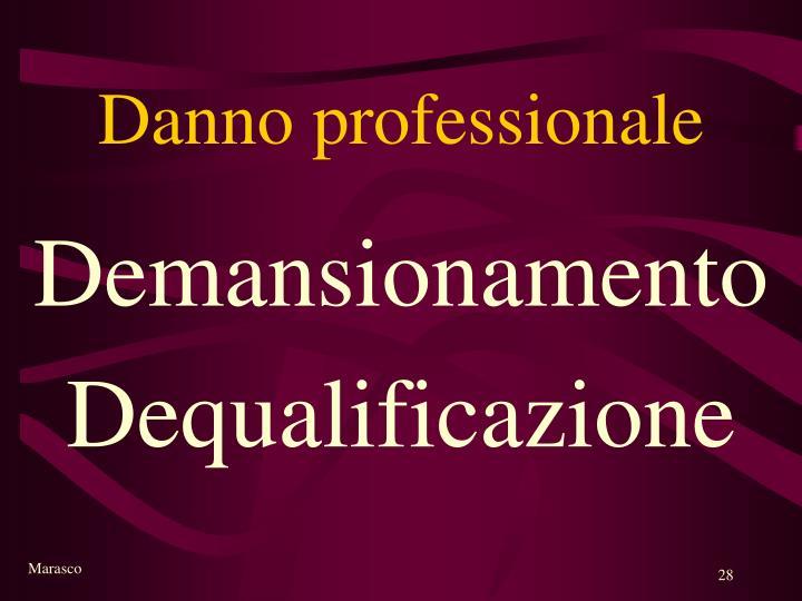 Danno professionale