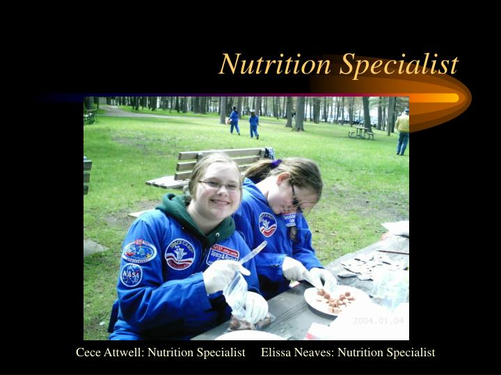 Nutrition Specialist