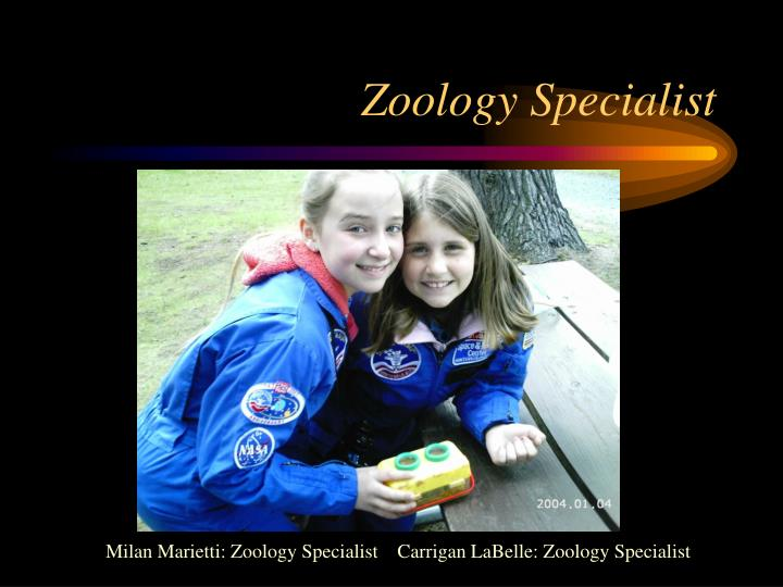 Zoology Specialist