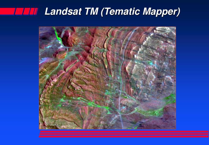 Landsat tm tematic mapper