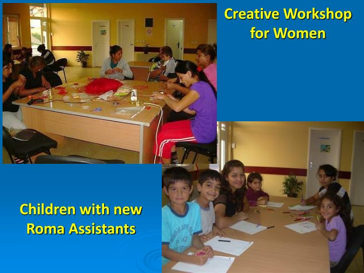 Creative Workshop for Women