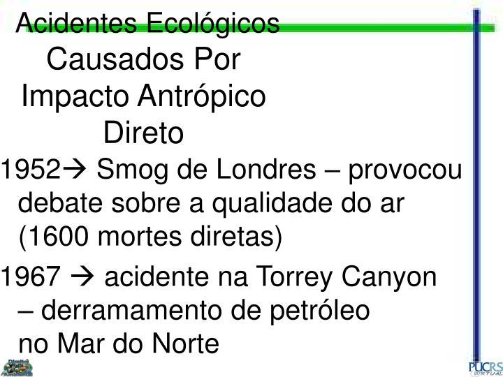 Acidentes Ecológicos