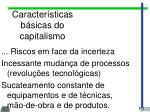 caracter sticas b sicas do capitalismo1