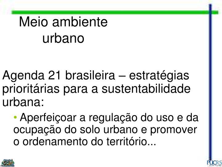 Meio ambiente urbano