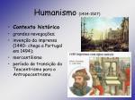 humanismo 1434 1527