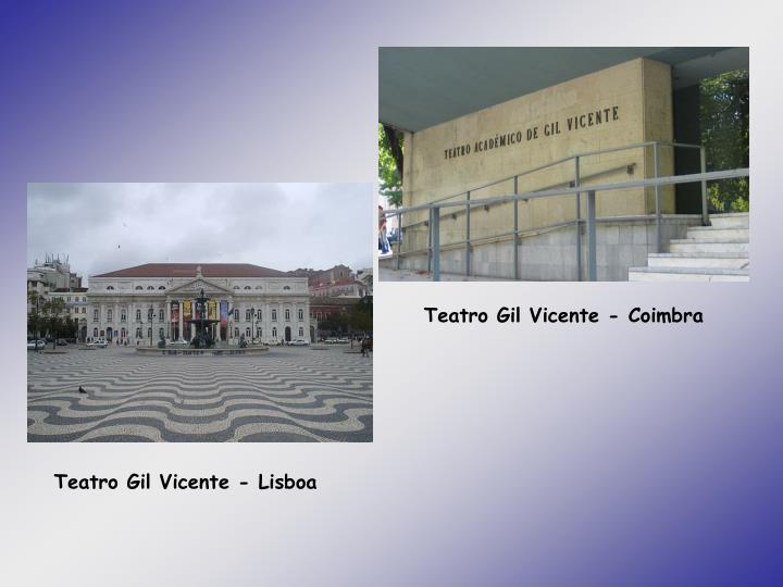 Teatro Gil Vicente - Coimbra