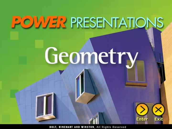 Chapter 1 foundations for geometry chapter 2 geometric reasoning