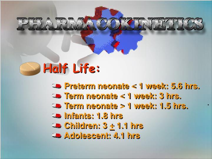 Half Life: