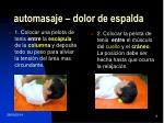 automasaje dolor de espalda1