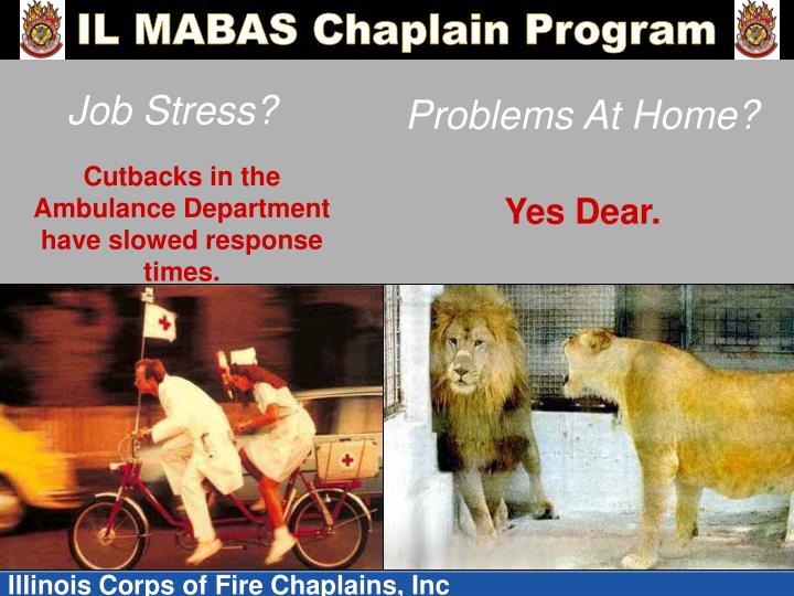 Job Stress?