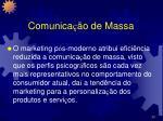 comunica o de massa