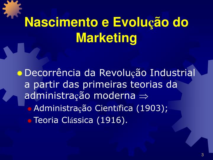 Nascimento e evolu o do marketing