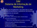 sim sistema de informa o de marketing