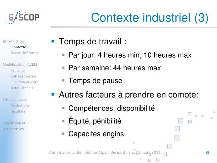 Contexte industriel (3)