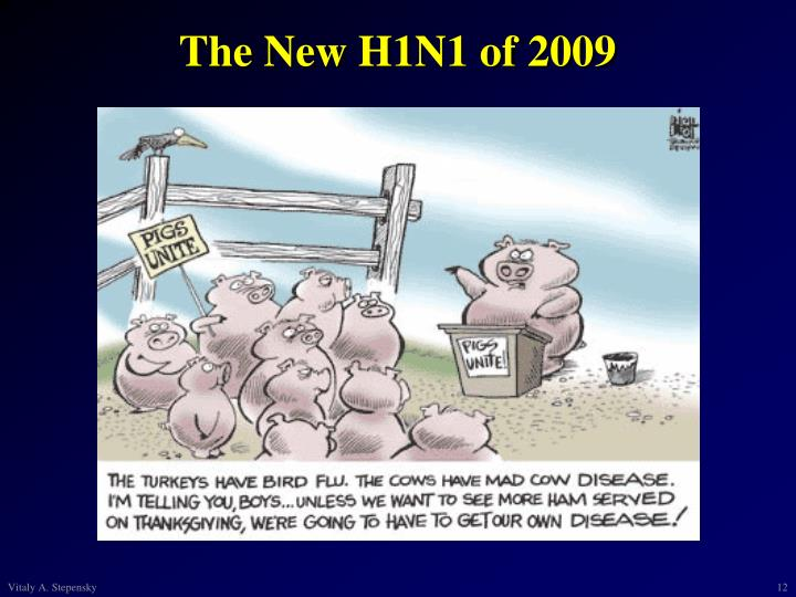The New H1N1 of 2009