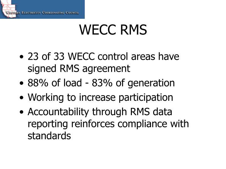 WECC RMS