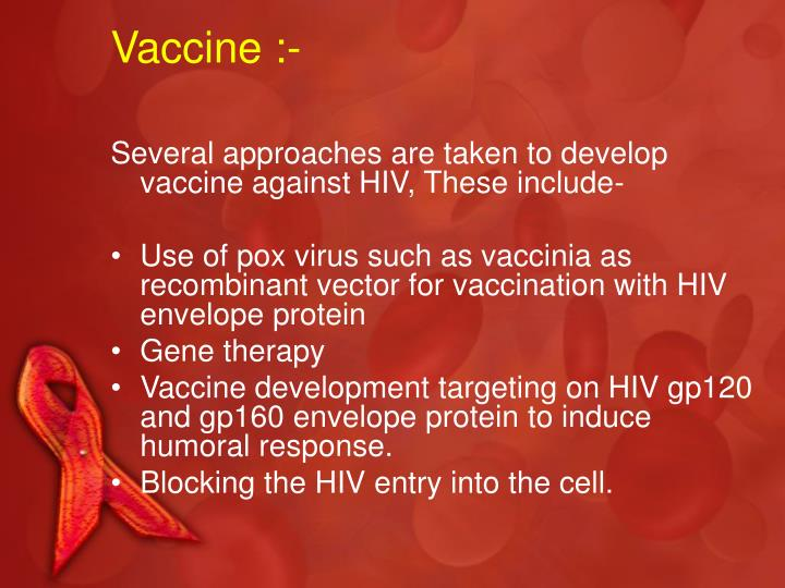 Vaccine :-