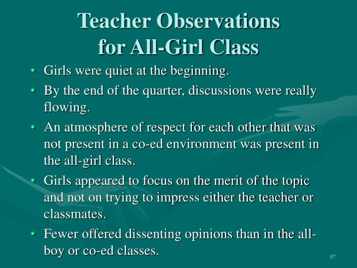 Teacher Observations