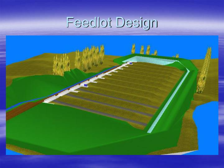 Feedlot Design
