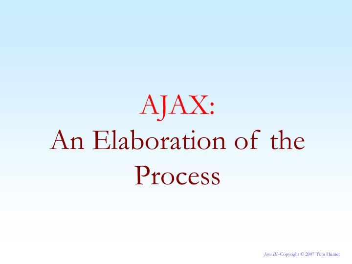 AJAX: