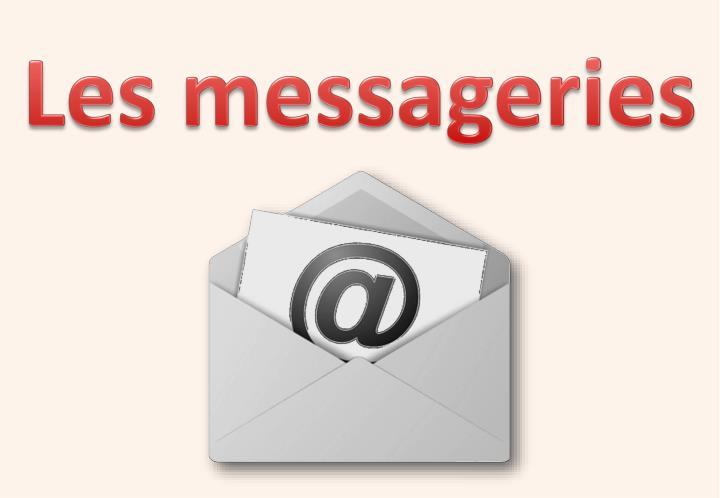 Les messageries
