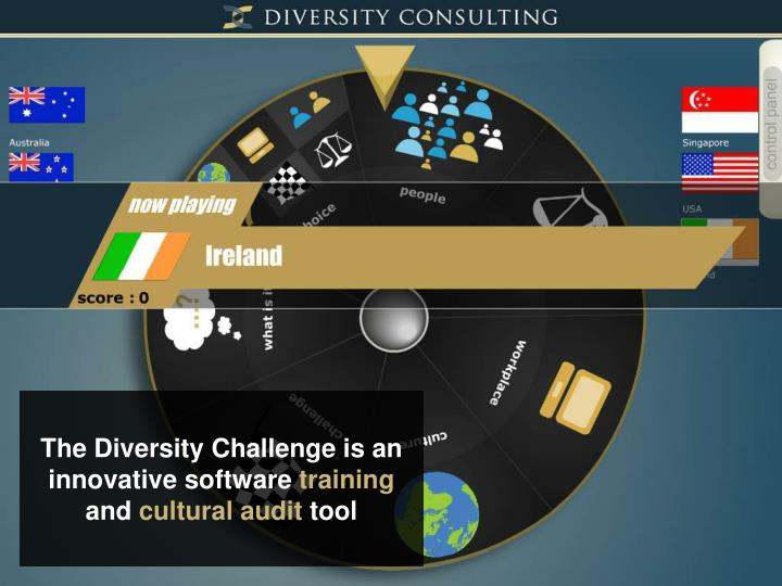 The Diversity Challenge is an innovative software