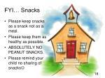 fyi snacks