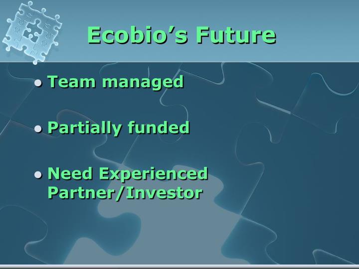 Ecobio's Future