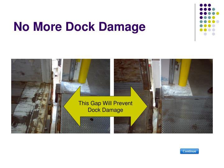 No More Dock Damage