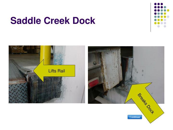 Saddle Creek Dock
