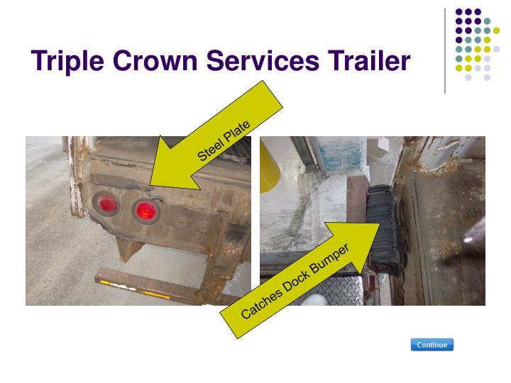 Triple Crown Services Trailer