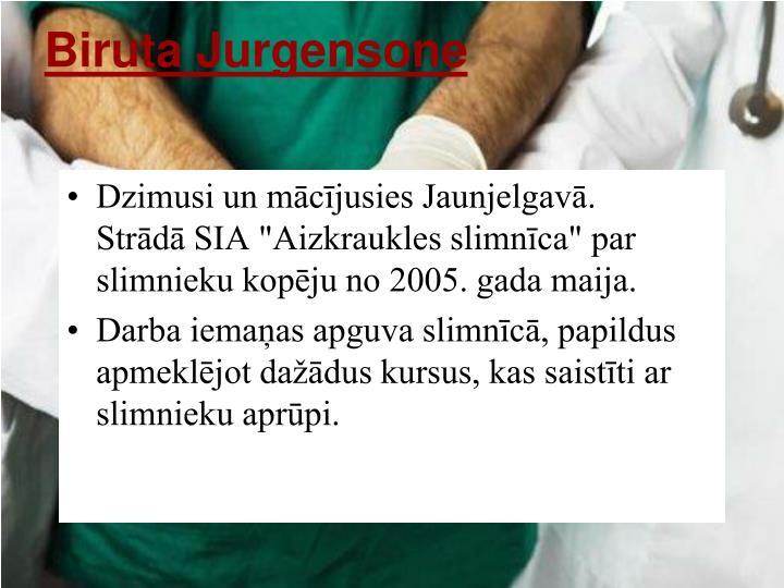 Biruta Jurgensone