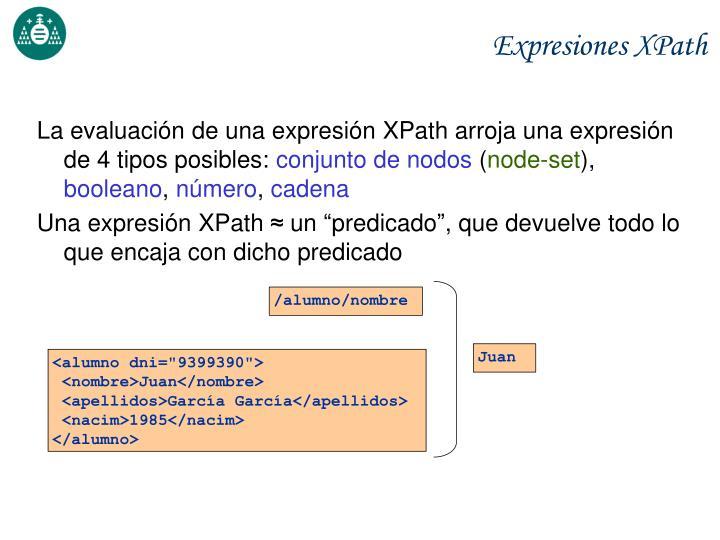 Expresiones XPath