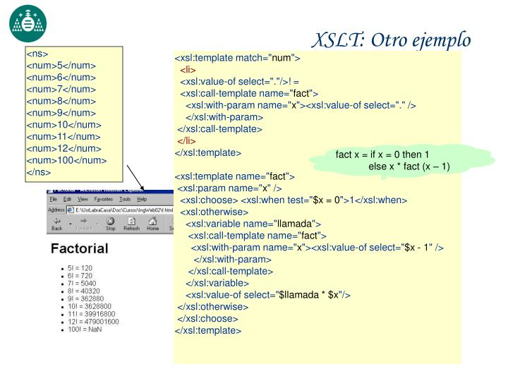 XSLT: Otro ejemplo