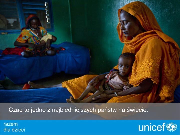 Czad to jedno z najbiedniejszych państw na świecie.