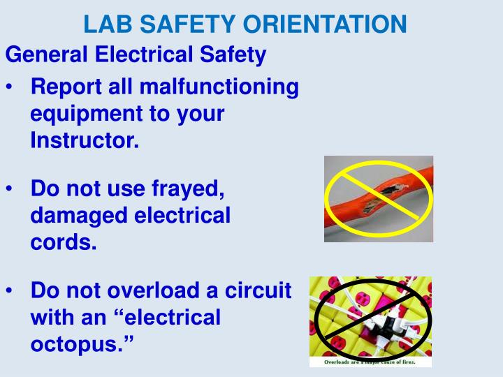General Electrical Safety