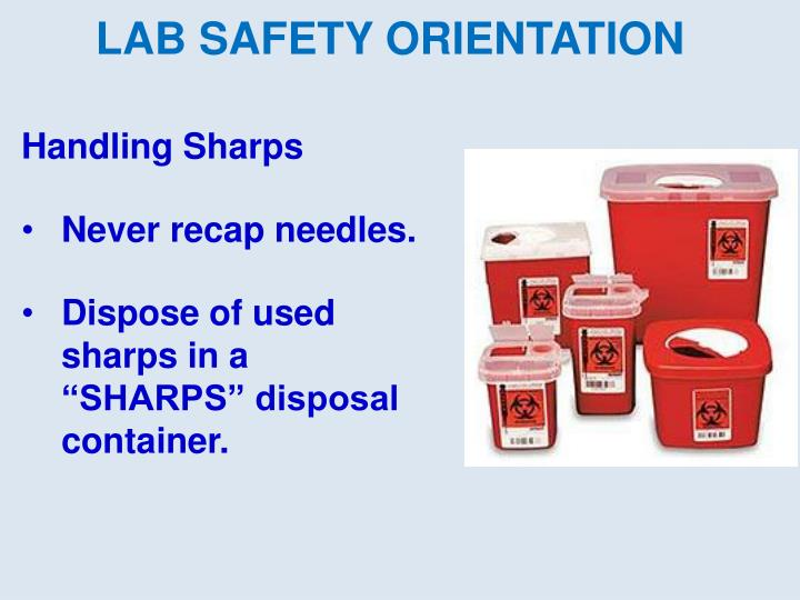 LAB SAFETY ORIENTATION