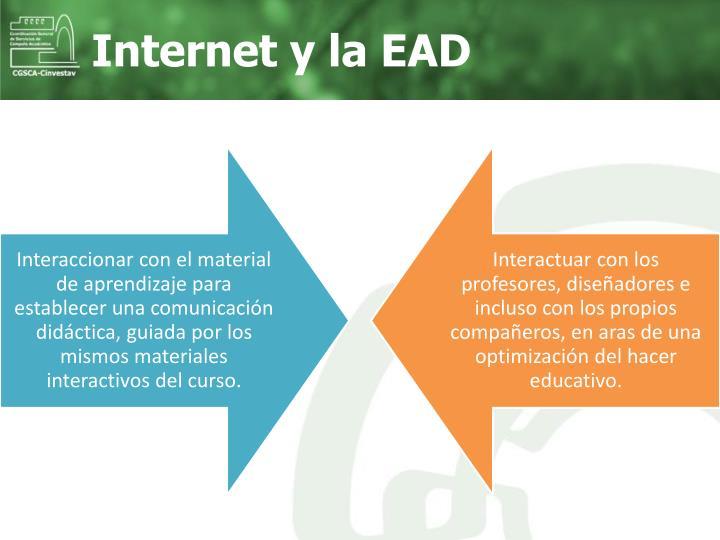 Internet y la EAD