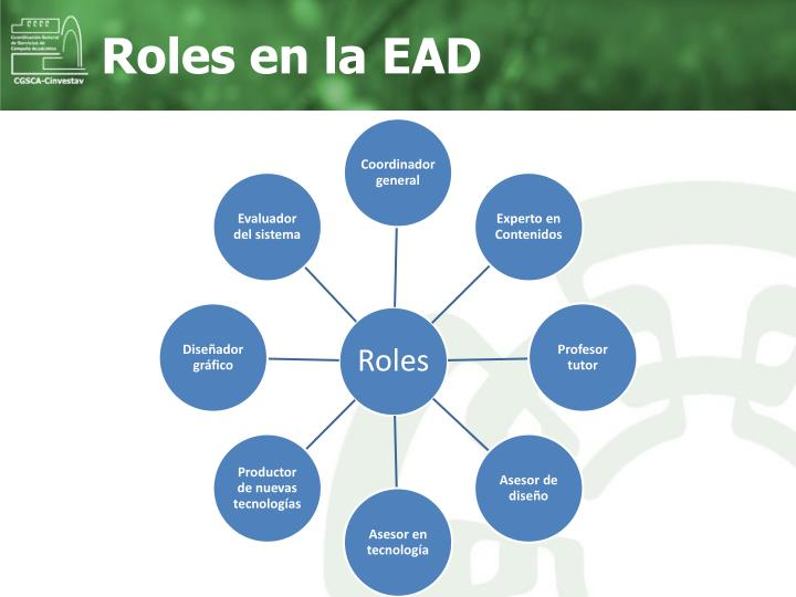 Roles en la EAD