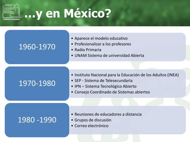 …y en México?