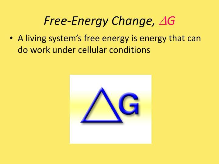 Free-Energy Change,