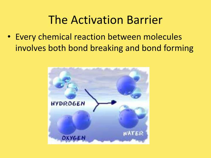 The Activation Barrier
