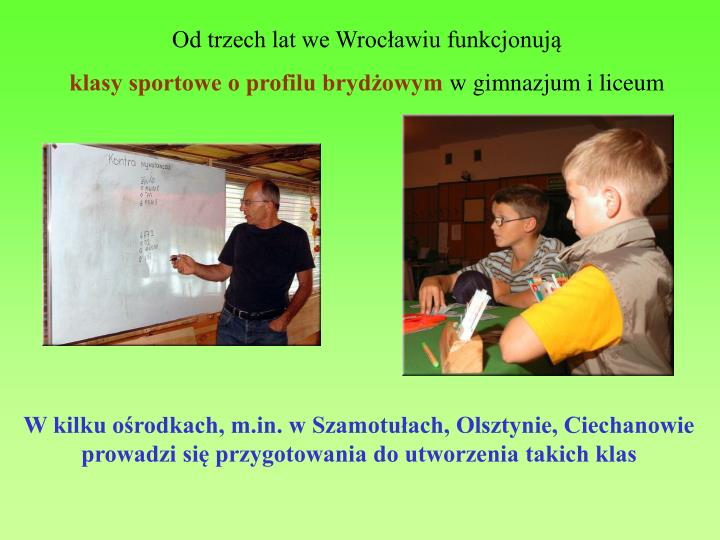 Od trzech lat we Wrocławiu funkcjonują