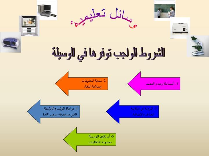 وسائل تعليمية