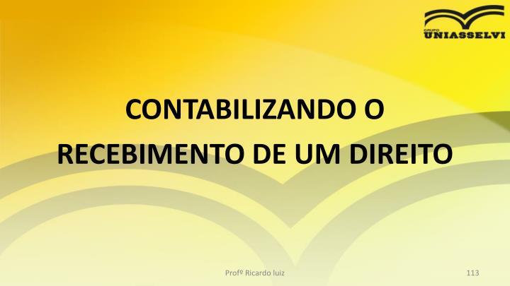 CONTABILIZANDO O