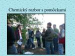 chemick rozbor s pom ckami