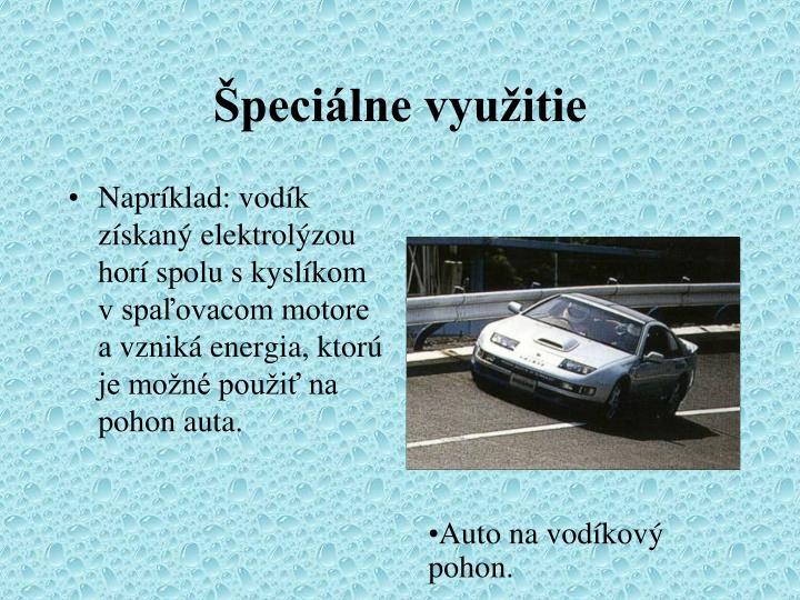 Špeciálne využitie