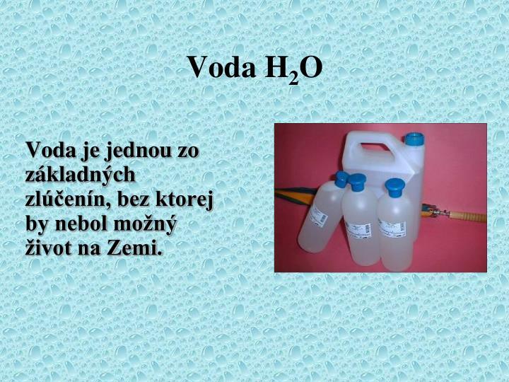 Voda H