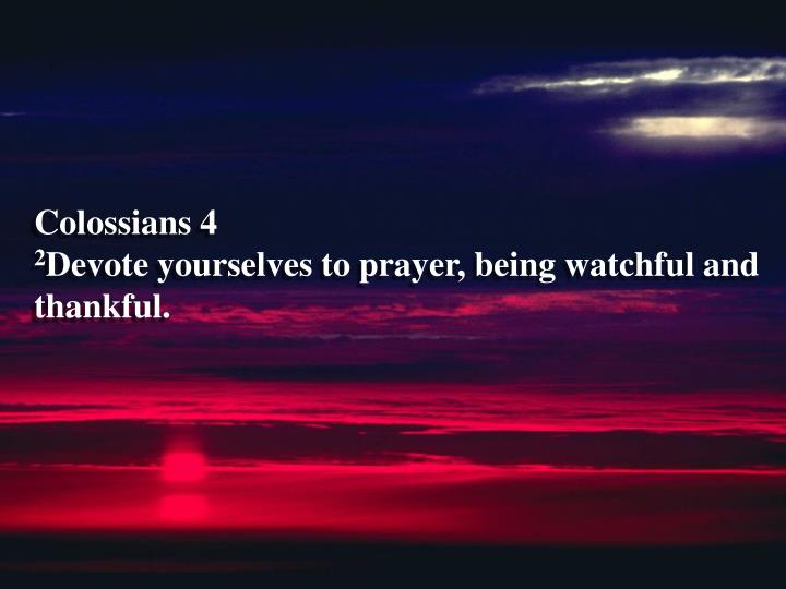 Colossians 4